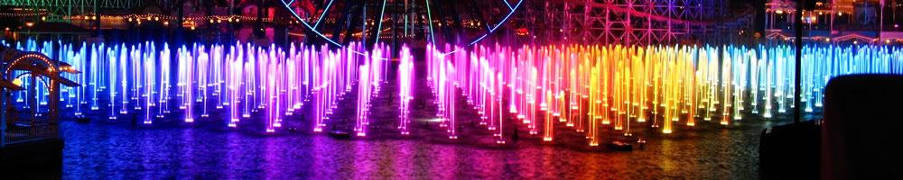 Светомузыкальные фонтаны